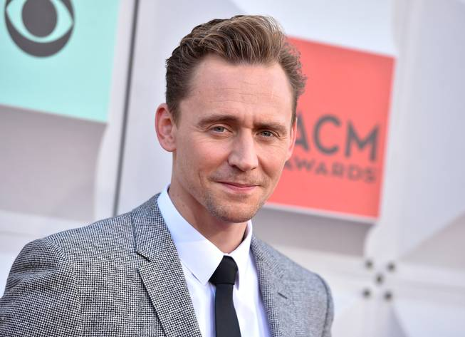 Tom Hiddleston arrives at the 51st annual Academy of Country ...