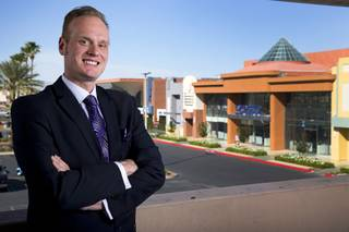 Timo Kuusela, vice president and general manager of Sansone Companies, poses at the Boulevard mall Monday, April 4, 2016. The mall is one of the properties owned by Sansone Companies.