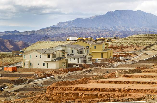 Lake Las Vegas: Village and Home Construction