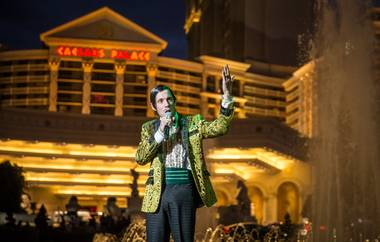 "The fifth anniversary of ""Absinthe"" on Thursday, March 31, 2016, at Caesars Palace."