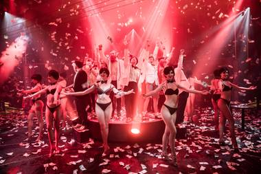 "The ""acro-cabaret variety show"" is leaving Caesars Palace and moving into Rose. Rabbit. Lie. as early as November. Rose. Rabbit. Lie. will continue to operate as a ""modern supper club"" with live entertainment independent of the show."