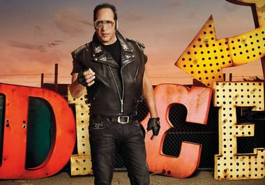 "Andrew Dice Clay stars in ""Dice"" on Showtime."