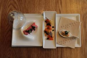 Dine in the Dark at Bacchanal Buffet
