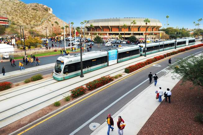 Phoenix light rail I 042016