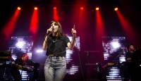 Scottish trio Chvrches, the world's potential next definitive pop band, spent a night off in Las Vegas exactly how one might hope it would: Chvrches went to see Britney Spears at Planet Hollywood.