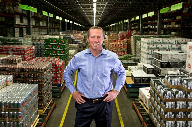 After merger, beverage distributor's VP says, 'We intend to