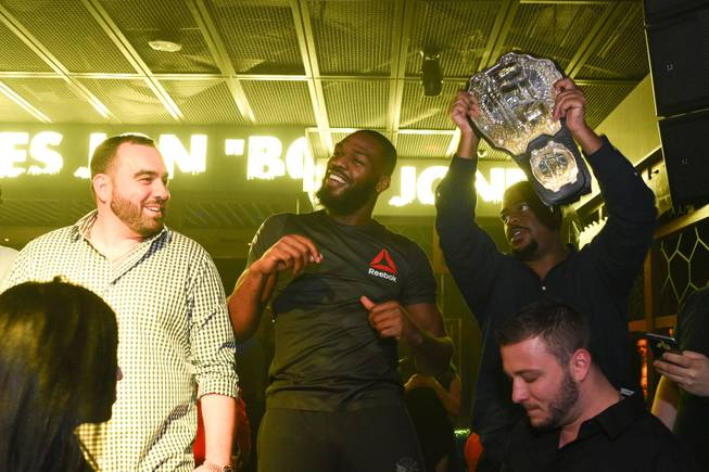 Jon Jones celebrates his UFC 197 victory with an after-party ...