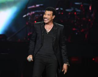 "Opening night of Lionel Richie's residency ""All the Hits"" on Wednesday, April 27, 2016, at Axis at Planet Hollywood."