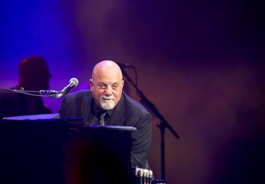 Billy Joel headlines T-Mobile Arena on Saturday, April 30, 2016, on the Las Vegas Strip.