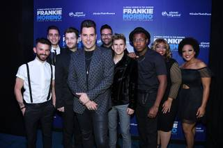 "Opening night of Frankie Moreno's ""Under the Influence"" on Wednesday, May 4, 2016, at Planet Hollywood."