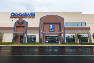 The exterior of Goodwill of Southern Nevada, 3700 S. Maryland Pkwy, at the Boulevard Mall on May 6, 2016.