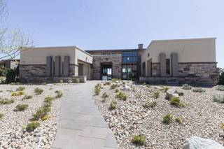 A look at a model home called Wakefield High Plains, part of the Pinnacle Collection, at the Toll Brothers' first Active Adult Community called Regency at Summerlin on March 3, 2016.