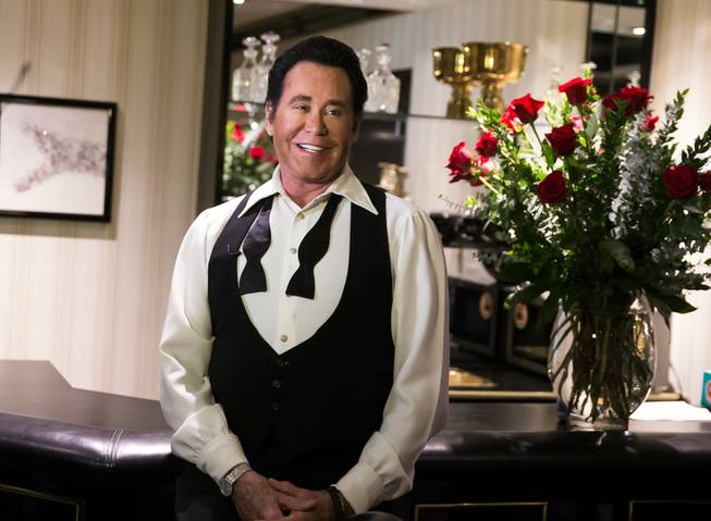 "The grand opening of Wayne Newton's ""Up Close and Personal"" ..."
