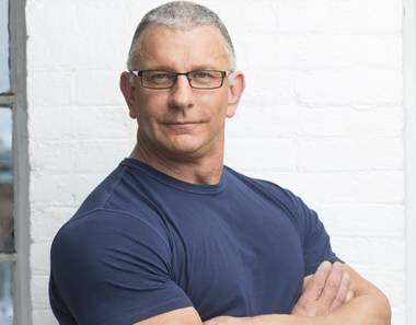 "Robert Irvine of ""Restaurant: Impossible"" on the Food Network."