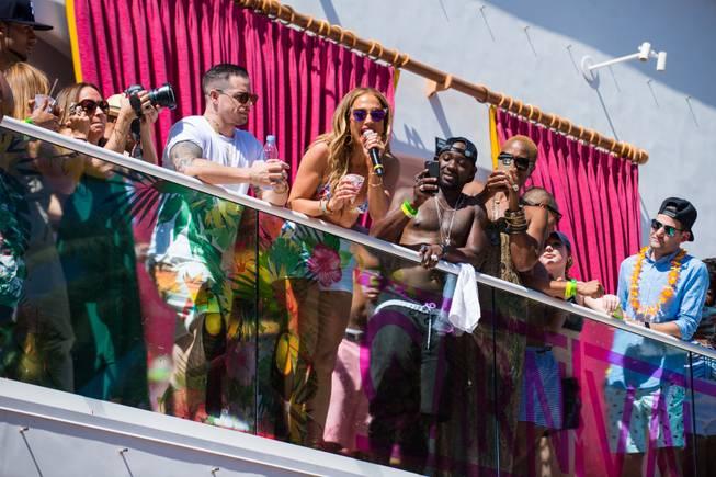 J.Lo kicks off 'Carnival Del Sol' at Drai's Beach Club