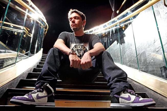 Adam Michael Goldstein, aka DJ AM.