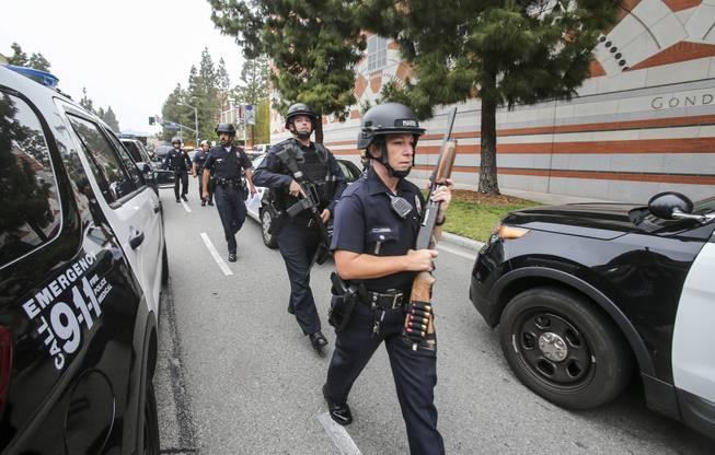 Police investigate report of possible shooter at UCLA campus