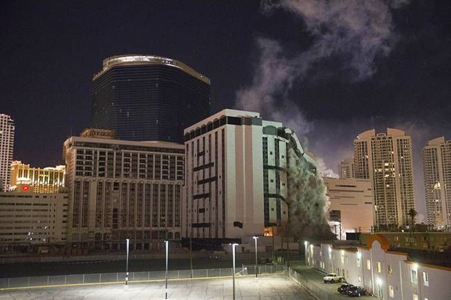 Riviera's Monaco Tower Imploded