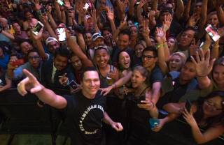DJ Tiesto at Fremont Street Experience on Thursday, June 16, 2016, in downtown Las Vegas.