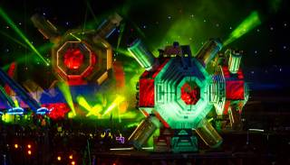 Night 1 of the Electric Daisy Carnival on Friday, June 17, 2016, at Las Vegas Motor Speedway.
