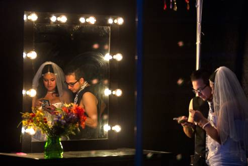 'Rave on together forever': EDC weddings make tying the knot a party