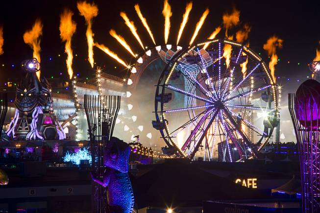 400 medical calls for 1st night of Electric Daisy Carnival