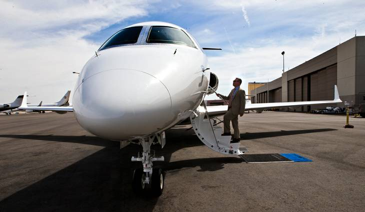 Private jets are ready to take off again - VEGAS INC