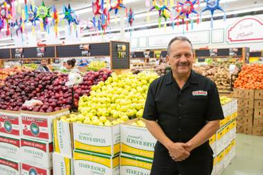 The unique sound of Victor Flores' voice and his friendly smile have become a regular part of Spanish-speaking TV in Las Vegas. He's employed at La Bonita supermarket, often appearing in ...