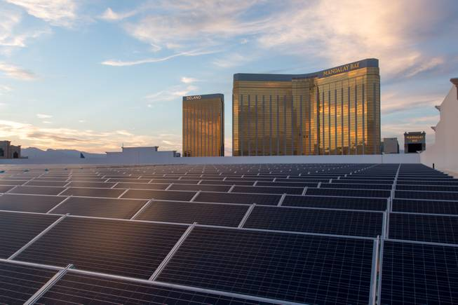 Mandalay Bay solar