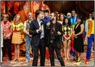 Sir Paul McCartney and Ring Starr celebrate the 10th anniversary of