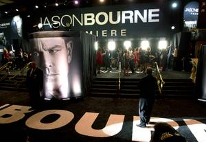 'Jason Bourne' Movie Premiere at The Colosseum at Caesars Palace