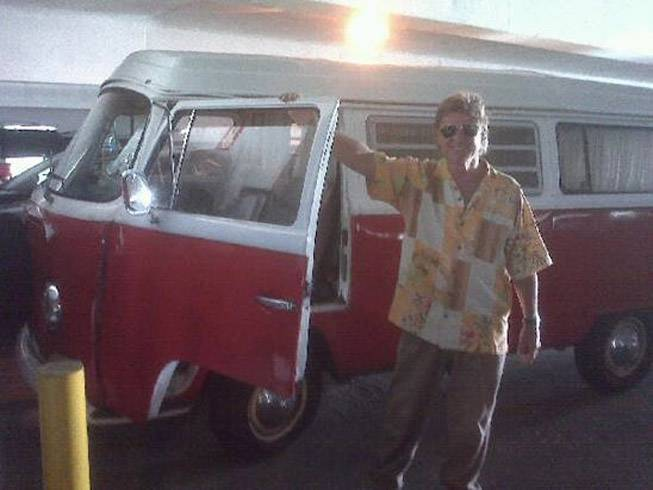 A boy and his rig: Tommy Rocker and his 1970 VW bus.