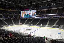 T-Mobile Arena holds an open house for future NHL season ticket holders, Monday, Aug. 1, 2016.