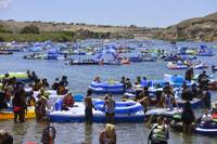 Heaps of garbage floating in and around the Colorado River — littered plastic bottles, cans, life jackets, flip-flops and more — provided plenty of cringeworthy images for officials after the 2016 Laughlin River Regatta. The mess from the record crowd ...