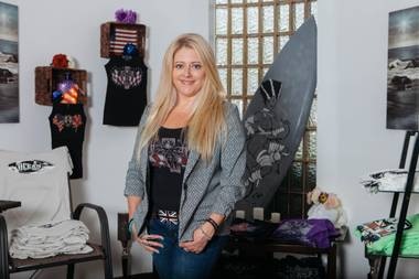 Claire Jane Vranian brought British fashion to Las Vegas back in 2009, when she conceived of ICJUK (Inspired by Claire Jane UK). The skulls, scarves and fascinators in Vranian's wearable art are coveted by stylish locals and celebrities such as Led Zeppelin's Jimmy Page, ACDC's Tyler Bryant and Heart's Ann Wilson.