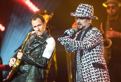 Culture Club performs with its original line up at the Pearl Concert Theater at the Palms Casino, Sunday, Aug. 21, 2016.