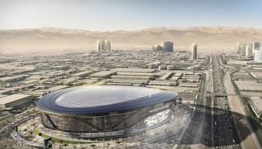 Las Vegas is no stranger to stadium pipe dreams. Over the years, developers have proposed building a slew of eye-catching, if not improbable, stadiums. (Remember the complex pitched for land near the M Resort in Henderson? Or the UNLV Now project?) Most ideas …