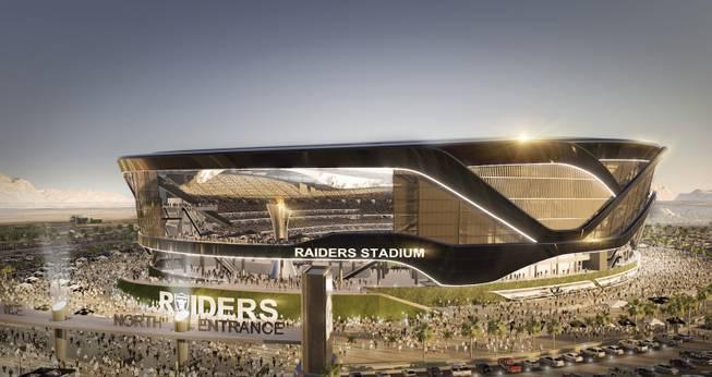 Raiders Stadium Rendering