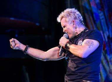 A rebel yell will be heard again in Las Vegas. Palms Casino Resort and Live Nation on Tuesday have announced Billy Idol is returning for ...