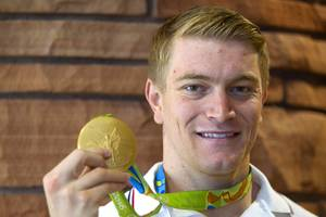 Olympic Gold medalist Connor Fields Is Honored