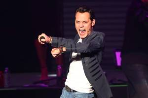 Marc Anthony Performs in the Axis