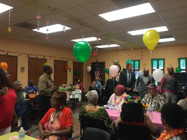 "In August, Rep. Cresent Hardy spent time at a North Las Vegas senior center, telling those gathered he was there to listen: ""That's how you learn, by shutting your mouth, listening and trying to understand the issues."""