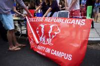 To grab the attention of freshmen at the student club fair this month, the College Republicans of George Washington University unfurled a red banner and set out beer cozies and lime green beer-pong cups sent by ...