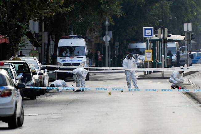 Two injured in Hungary blast