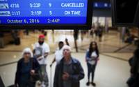 Hurricane Matthew may be on the other side of the country, but that doesn't mean Las Vegas isn't being affected. Airlines canceled hundreds of flights today and Friday as the hurricane pelted the Florida coast with high winds and heavy rain. The Fort Lauderdale airport shut down this morning, and farther north the ...