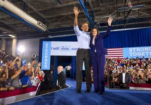 Obama Rallies Democrats in North Las Vegas