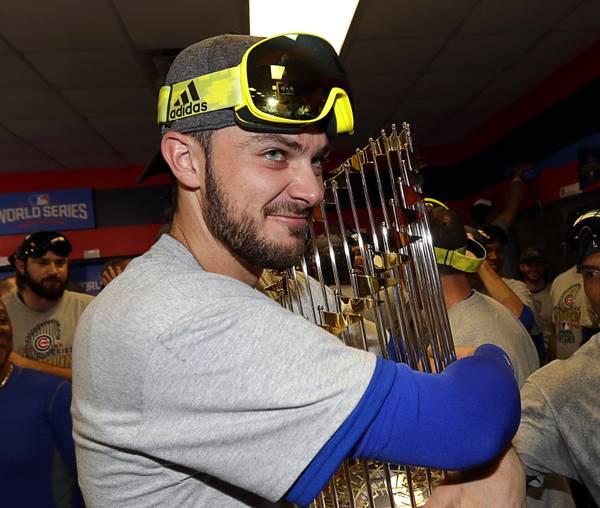 d4a5bba2e1e Jimmy Kimmel books Cubs  Kris Bryant to talk World Series win (6.77 17)
