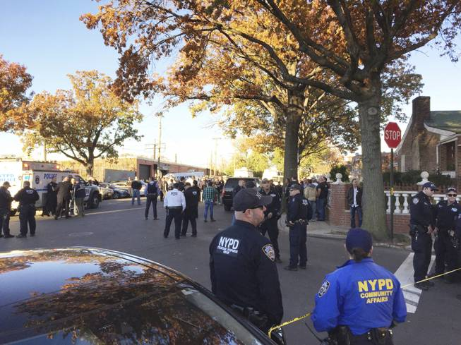 Two NYPD sergeants shot in the Bronx, suspect killed