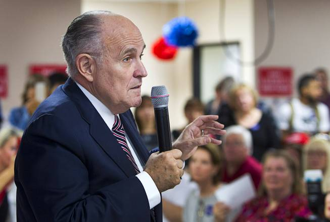 Giuliani's foreign work complicates candidacy for top post