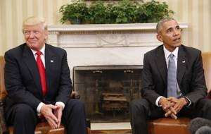 President-elect Donald Trump Meets President Obama